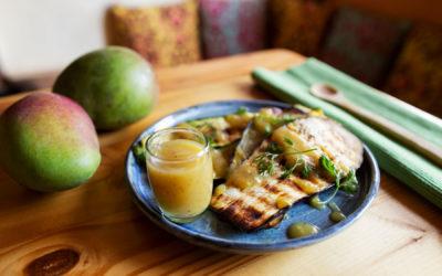 Salsa de mango biche
